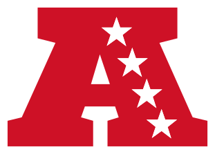 American Football Conference (AFC) Logo.
