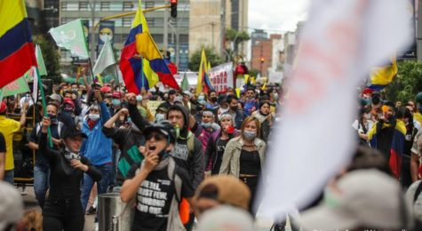 Unrest in Columbia